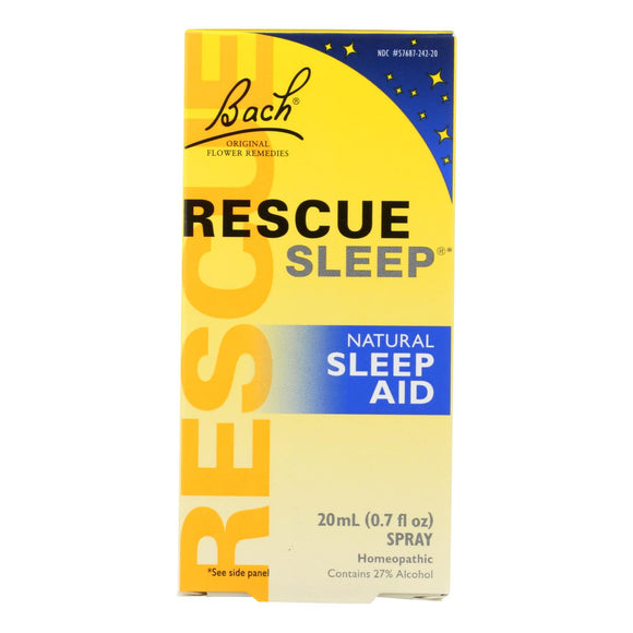 Bach Flower Remedies Rescue Sleep Natural Sleep Aid - 0.7 fl oz Pack of 3