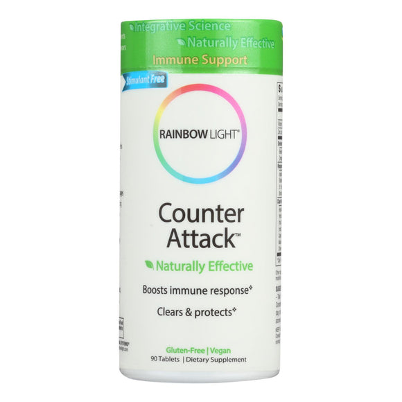Rainbow Light Counter Attack - 90 Tablets Pack of 3