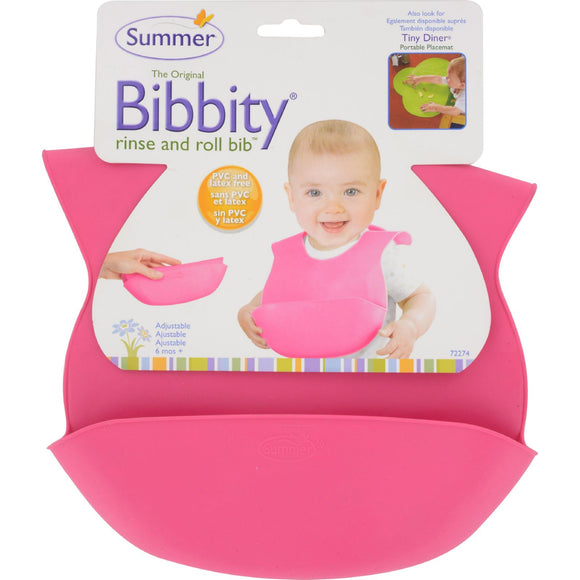 Bornfree - Bibbity Bib - Pink - 1 ct Pack of 3