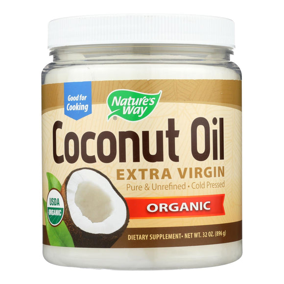 Nature's Way - Coconut Oil - Extra Virgin - 32 oz. Pack of 3