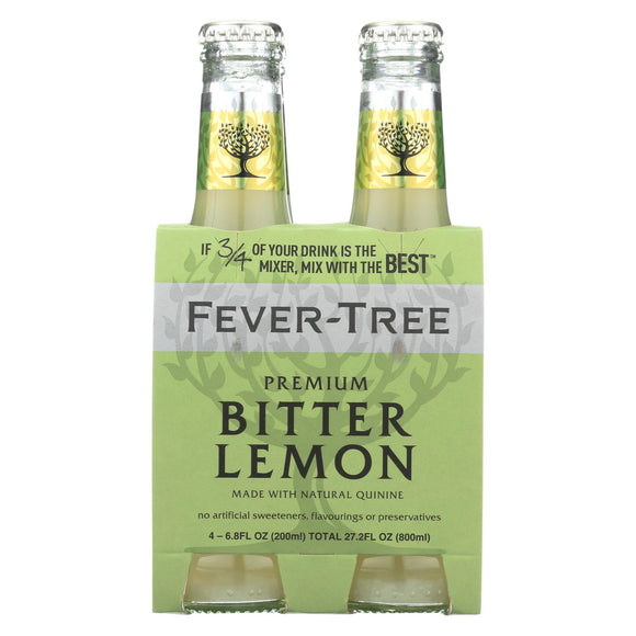 Fever - Tree Soda - Bitter Lemon - Case of 6 - 6.8 Fl oz.