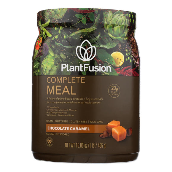 Plantfusion - Complete Meal - Chocolate Caramel - 15.9 oz Pack of 3