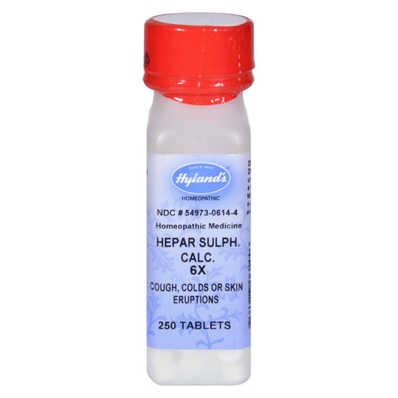 Hyland's Calcium Hepar Sulphate 6x - 250 Tablets Pack of 3