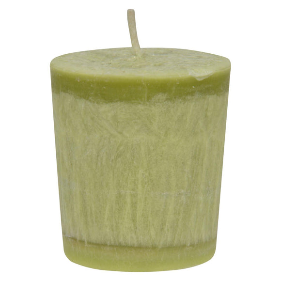 Aloha Bay - Votive Eco Palm Wax Candle - Lemon Verbena- Case of 12 - 2 oz