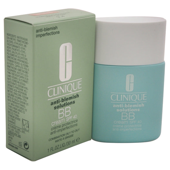 Anti-Blemish Solutions BB Cream SPF 40 - Light Medium by Clinique for Women - 1 oz Makeup Pack of 3