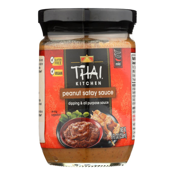 Thai Kitchen Peanut Satay Sauce - 8 Fl oz. Pack of 3