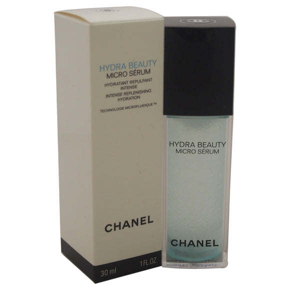 Hydra Beauty Micro Serum Intense Replenishing Hydration by Chanel for Unisex - 1 oz Serum Pack of 3