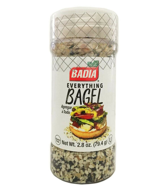 Badia Spices - Spice Everything Bagel - Case of 8 - 2.8 OZ