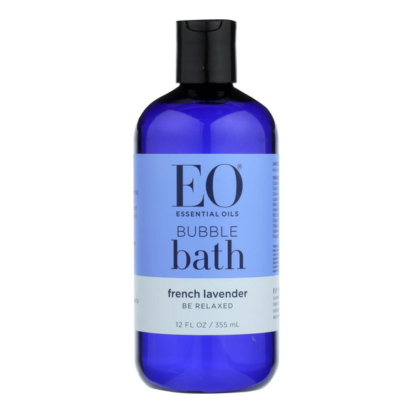 EO Products - Bubble Bath Serenity French Lavender with Aloe - 12 fl oz Pack of 3
