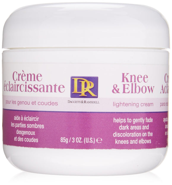 D&R Knee & Elbow Lightening Cream 3 Oz Pack of 12