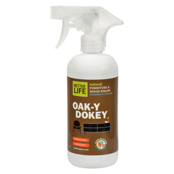 Better Life Oaky Doky Wood Cleaner and Polish - 16 fl oz Pack of 3