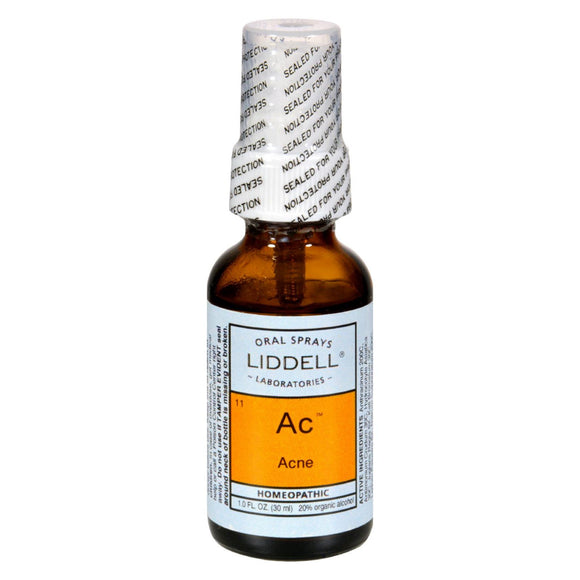 Liddell Homeopathic Ac Acne - 1 fl oz Pack of 3