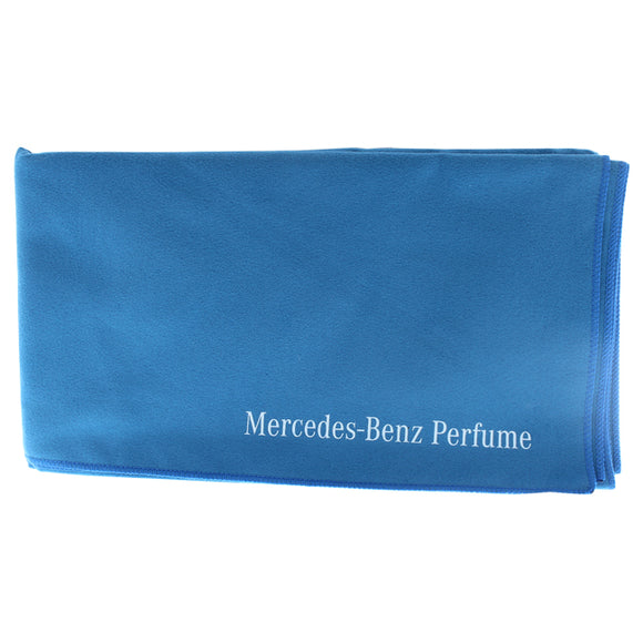 Sport Towel Microfiber - Blue by Mercedes-Benz for Men - 1 Pc Towel Pack of 3