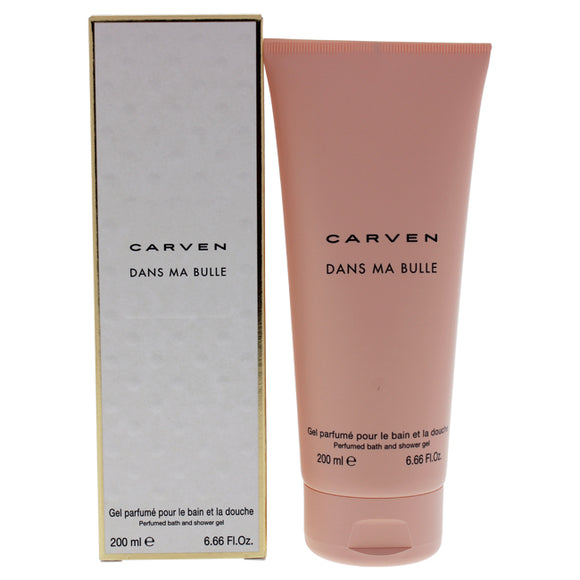 Dans Ma Bulle by Carven for Women - 6.7 oz Shower Gel Pack of 3