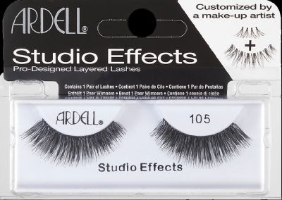 Studio Effect Lashes 105 Black Pack of 3