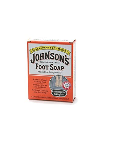 Johnson'S Foot Soap Quick Dissolving Powder 8 Pk Pack of 12
