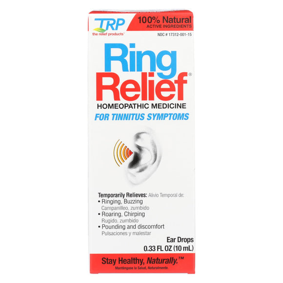 TRP Ear Drops - Ring Relief - .33 oz Pack of 3