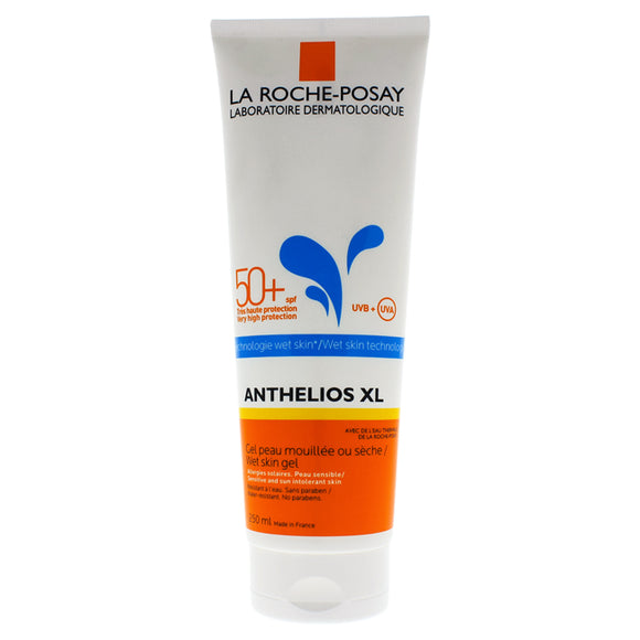 Anthelios XL Wet Skin Gel SPF 50 by La Roche-Posay for Unisex - 8.4 oz Sunscreen Pack of 3