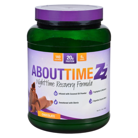 About Time - ZZ Nighttime Recovery - Chocolate - 2 lbs. Pack of 3
