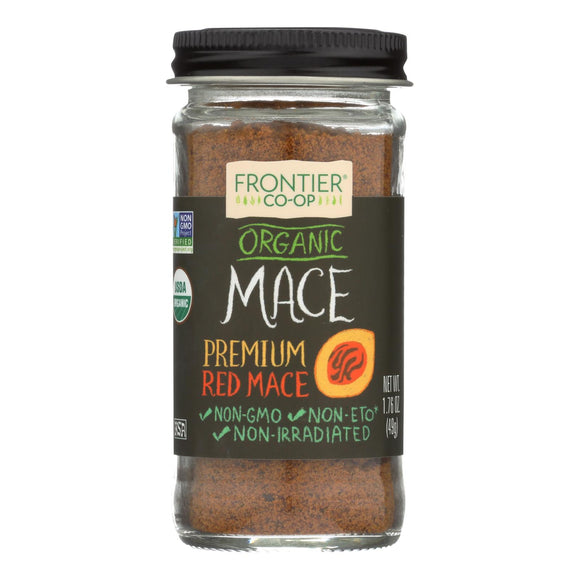 Frontier Herb Mace - Organic - Ground - 1.76 oz Pack of 3