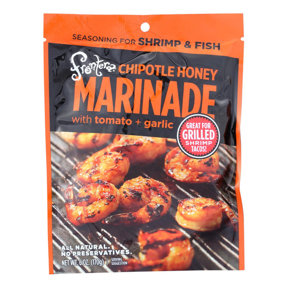 Frontera Marinade Sauce - Chipotle Honey with Tomato and Garlic - Case of 6 - 6 oz.