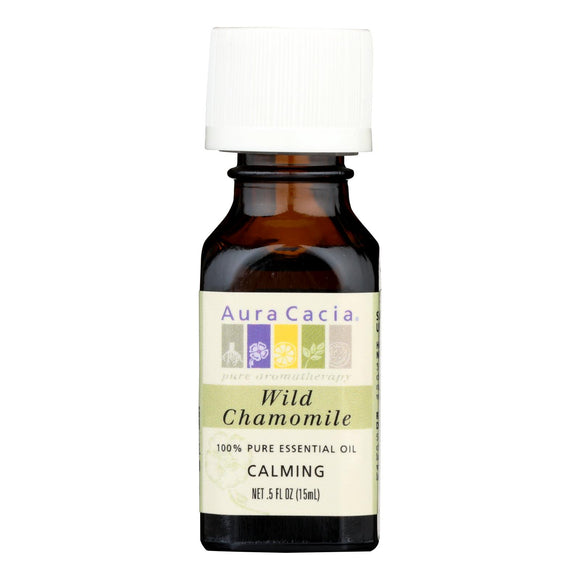 Aura Cacia - Wild Chamomile - Calming - .5 oz Pack of 3