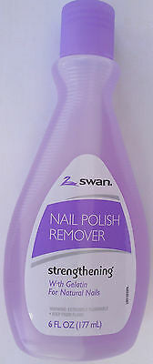 Swan Nail Polish Remover Strengthening 6 Fl Oz     Pack of 24