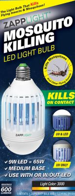 Zapplight Insect Killer & Led Pack of 3