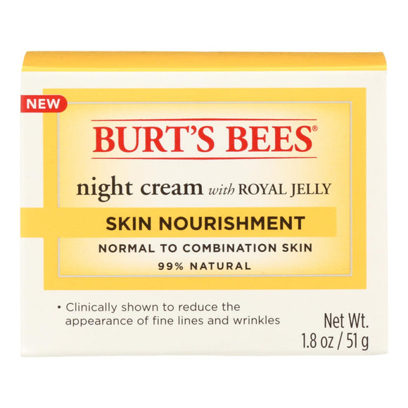Burts Bees  Skin Nourish Night Cream Pack of 3