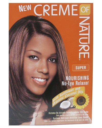 Creme Of Nature No Lye Relaxer Kit Super Pack of 12
