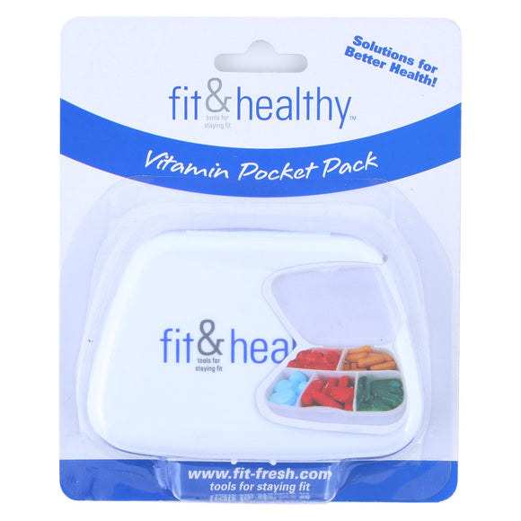 Fit and Healthy VitaMinder Vitamin Pocket Pack - 1 Case Pack of 3