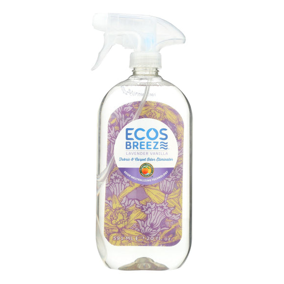 ECOS - Odor Eliminator - Lavender Vanilla - Case of 6 - 20 fl oz.