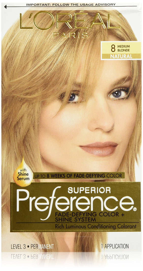 Preference 8 Medium Blonde Pack of 3