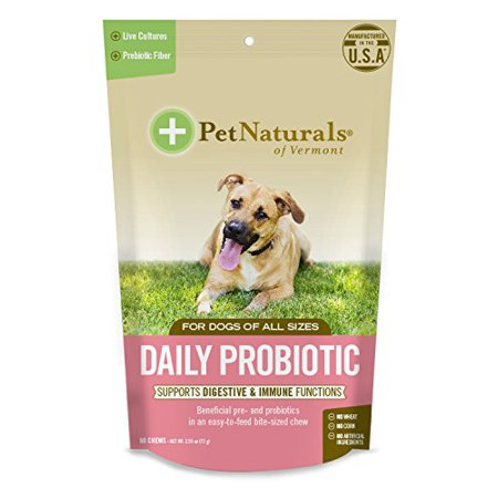 Pet Naturals Of Vermont - Daily Probiotic Chew Dogs - 1 Each - 60 CT Pack of 3