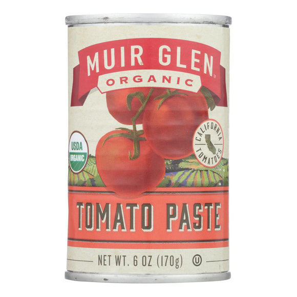Muir Glen Muir Glen Tomato Paste - Tomato - Case of 24 - 6 oz.