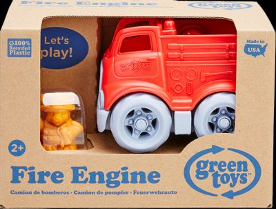 Mini Fire Engine W/Character Pack of 2