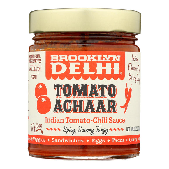 Brooklyn Delhi - Tomato Achaar Chili Sauce - Case of 6 - 9 oz