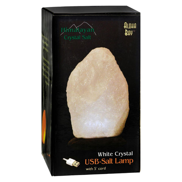 Himalayan Salt Lamp - White USB - 4 in Pack of 3