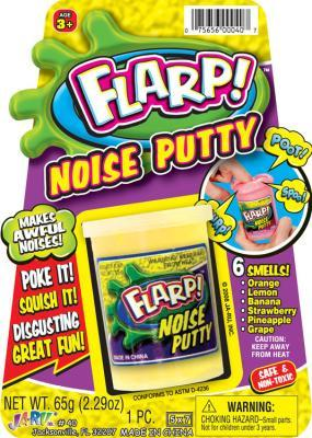 Flarp Noise Putty Cded 5x7