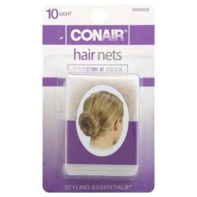 10Pk Light Hair Nets Pack of 6