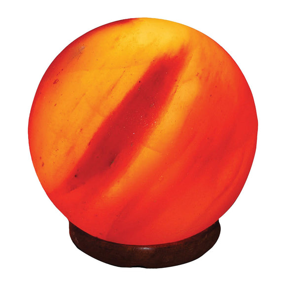 Evolution Salt Crystal Salt Lamp - Sphere - 6 inches - 1 Count Pack of 3