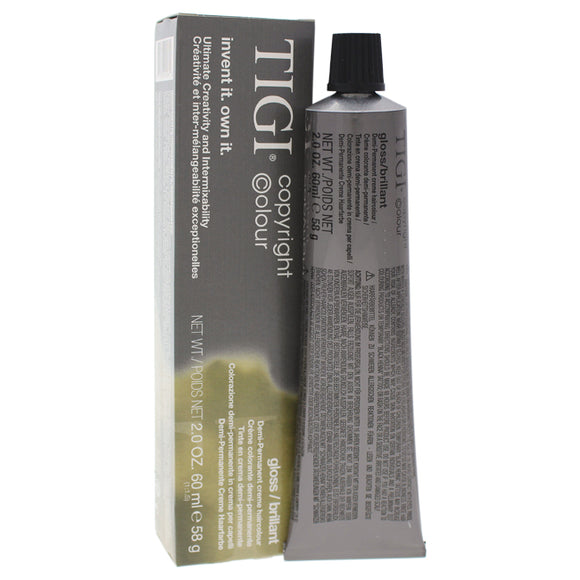 Colour Gloss Creme Hair Color - # 10/32 Extra Light Golden Violet Blonde by TIGI for Unisex - 2 oz H Pack of 3