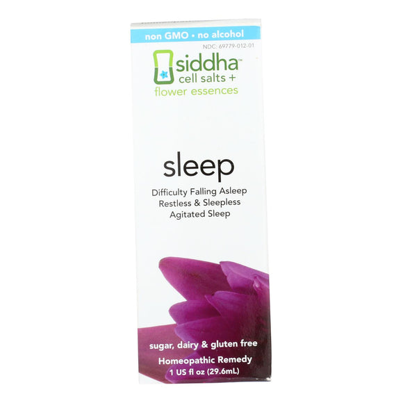Siddha Flower Essences Sleep - 1 fl oz Pack of 3