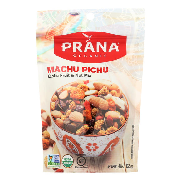 Prana Machu Pichu - Nuts and Fruit Mix - Case of 8 - 4 oz.