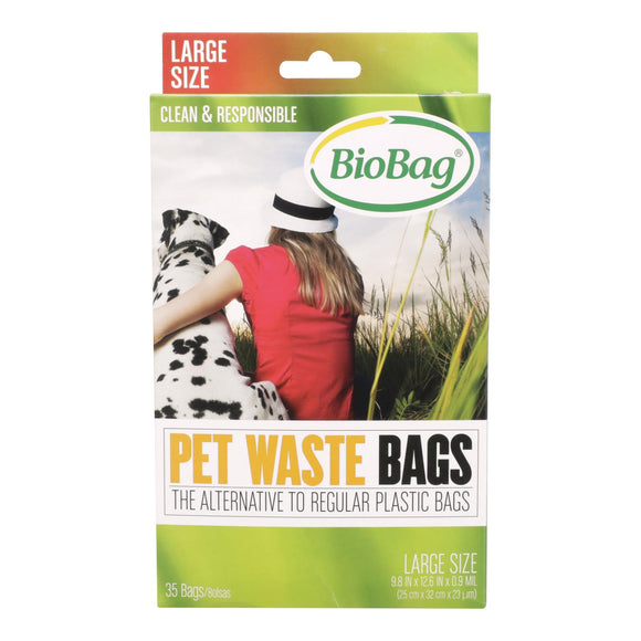 BioBag - Dog Waste Bags - Case of 12 - 35 Count