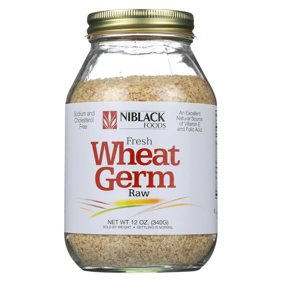 Niblack Wheat Germ - Raw - 12 oz Pack of 3