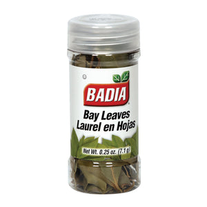 Badia Spices - Spice Bayleaves Whole - Case of 8 - .25 OZ