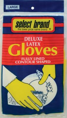 Select Brand Gloves Latex Large 4422Sj Pack of 6