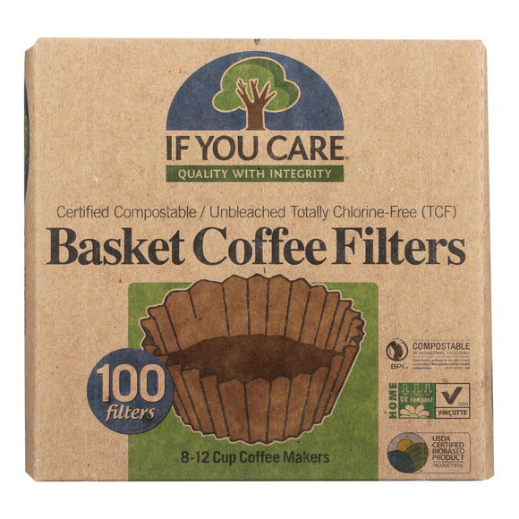 If You Care Coffee Filters - 100 Ct Pack of 3