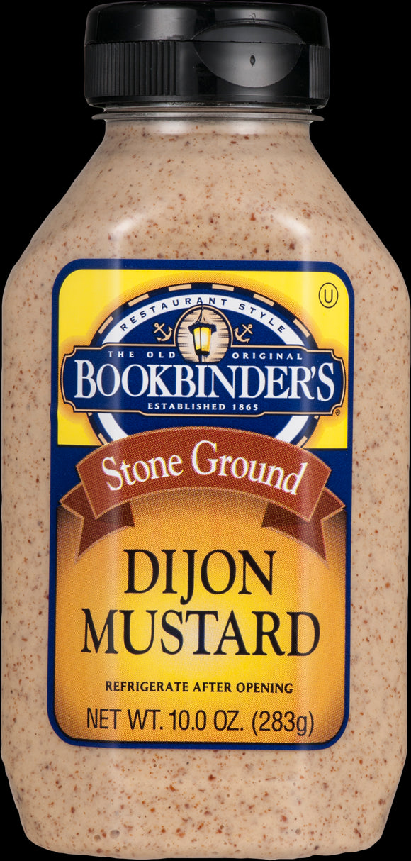 Bookbinder's, Stone Ground Dijon Mustard - Case of 9 - 10 OZ